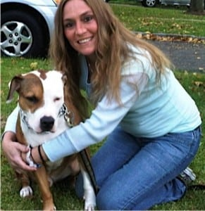 Tracey with Bandit
