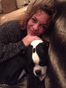 Laura with Spike