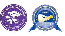 accredited pet sitter and naps certified
